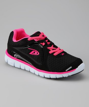 Black & Hot Pink Ultra Running Shoe - Women