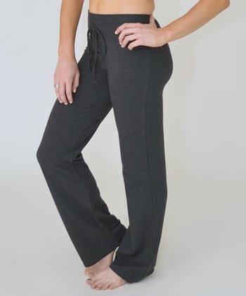 Charcoal Drawstring Lounge Pants