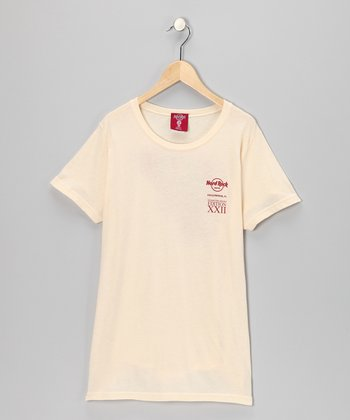 Cream 'Hard Rock Hollywood' Tee - Girls