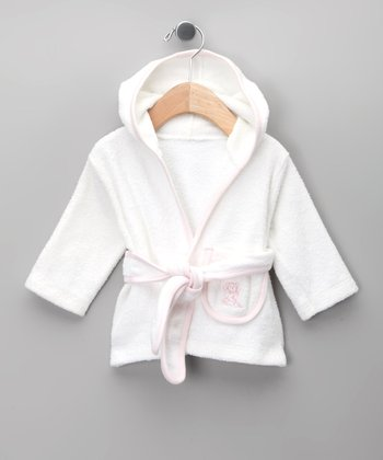 Blanco & Rosa Robe - Infant
