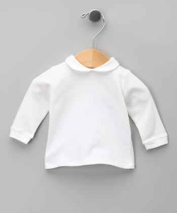 Blanco Peter Pan Top - Infant