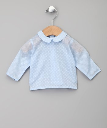 Azul Peter Pan Collar Blouse - Infant