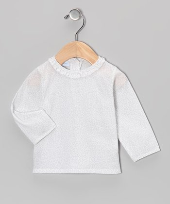 Gris Ruffle Blouse - Infant