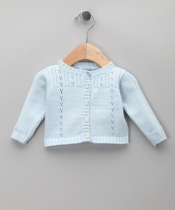 Celeste Pointelle Cardigan - Infant