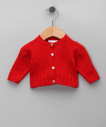 Rojo Tricot Cardigan - Infant
