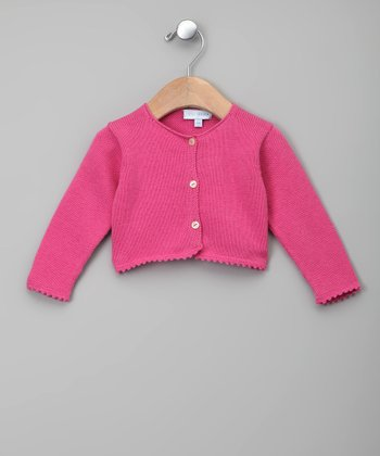 Rosa Brillante Cardigan - Infant