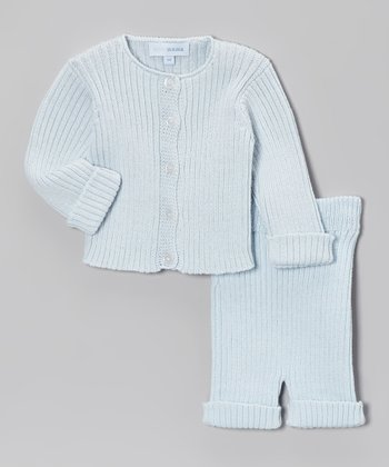 Celeste Ribbed Cardigan & Pants - Infant