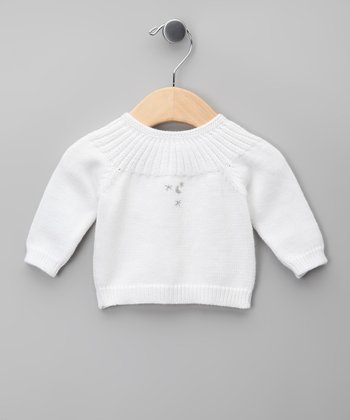 Blanco Pleated Cardigan - Infant