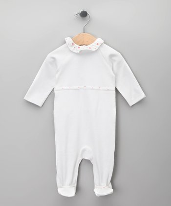 Blanco Ruffle Footie - Infant