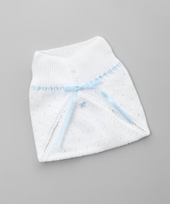 Blanco & Azul Diaper Cover - Infant