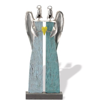 Blue Angel Sisters Sculpture