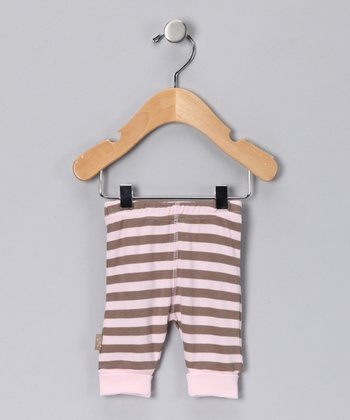 Pink Stripe Safari Organic Pants