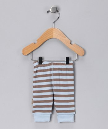 Blue Stripe Safari Organic Pants