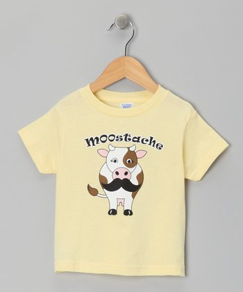 Banana 'Moostache' Tee - Toddler & Kids