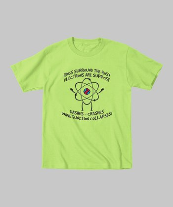 Key Lime Dancing Electron Tee - Toddler & Kids