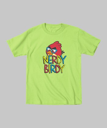 Key Lime 'Nerdy Birdy' Tee - Toddler & Boys