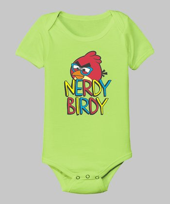 Key Lime 'Nerdy Birdy' Bodysuit - Infant