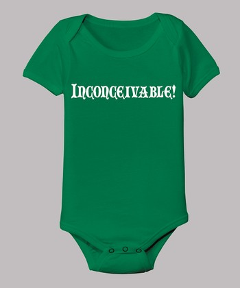 Kelly Green 'Inconceivable!' Bodysuit - Infant