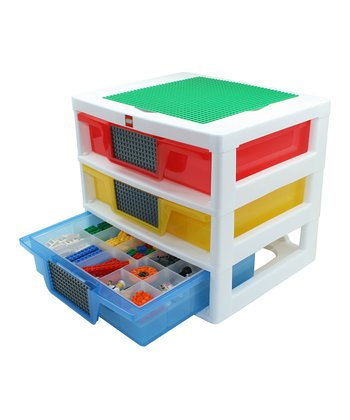 Three-Drawer LEGO Organizer