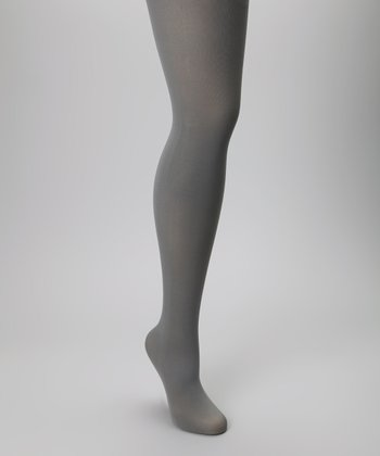 Pewter Microfiber Tights Set