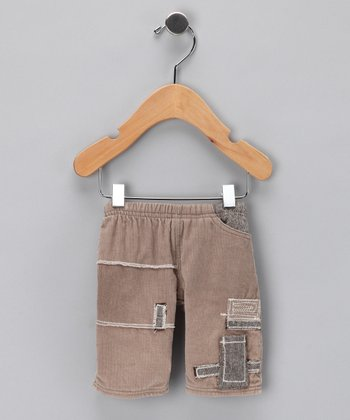 Beige Corduroy Pants - Infant & Toddler