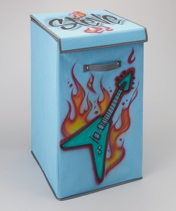Turquoise Guitar Personalized Hamper