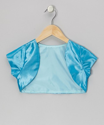 Aqua Blue Shrug - Toddler & Girls