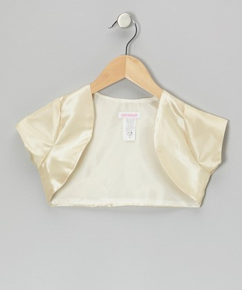 Champagne Shrug - Toddler & Girls