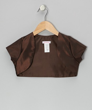 Chocolate Shrug - Toddler & Girls