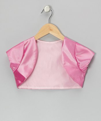 Fuchsia Shrug - Toddler & Girls