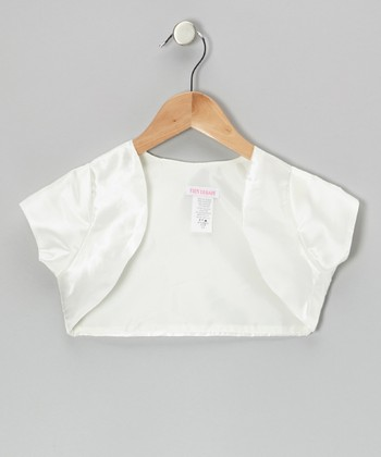 Ivory Shrug - Toddler & Girls