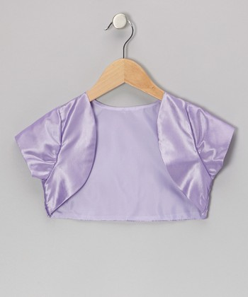 Lilac Shrug - Toddler & Girls