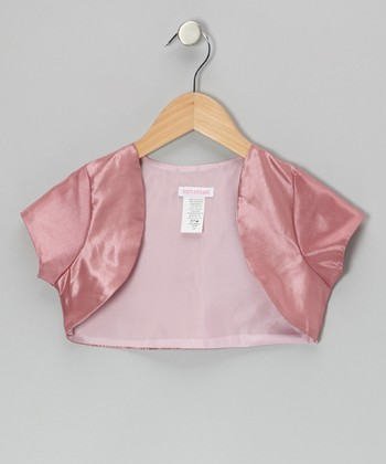 Mauve Shrug - Toddler & Girls