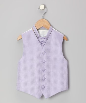 Lilac Square Vest - Infant, Toddler & Boys