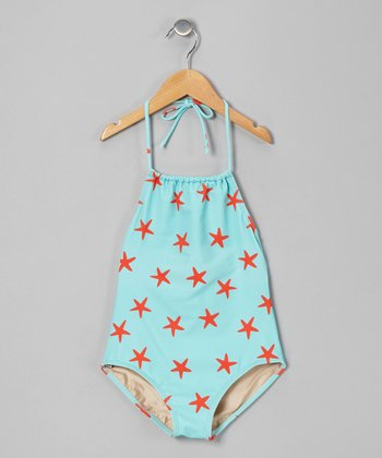 Sea Star Carter Halter One-Piece - Girls