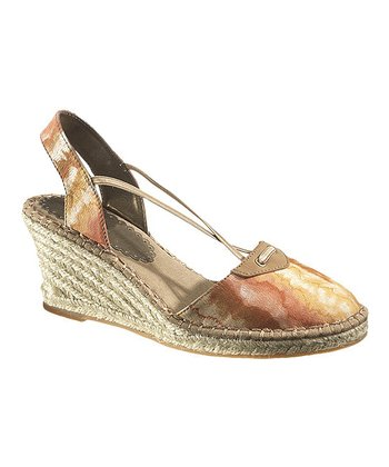 Natural Batik Biscayne Bay Espadrille - Women