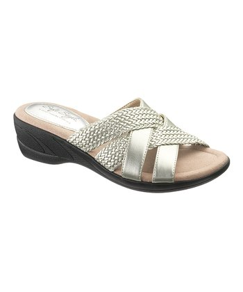 Washed Silver Dane Sandal - Women