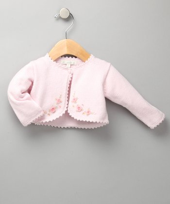 Pink Lightweight Knit Cardigan