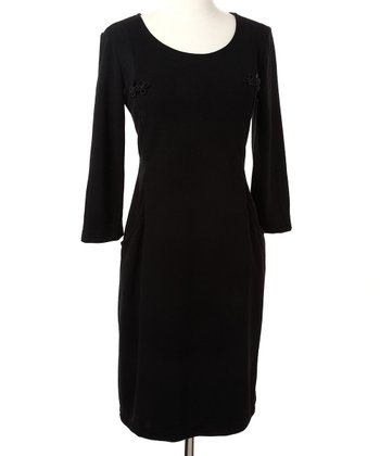 Black Signature Nursing Dress