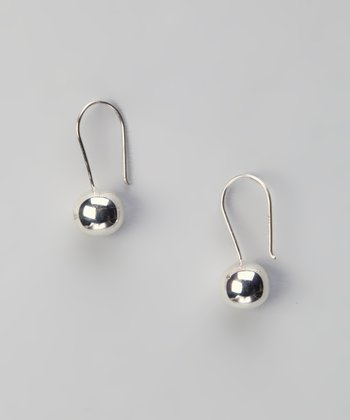 Sterling Silver Large Ball Earrings