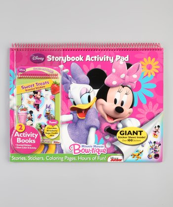 Minnie Activity Pad Set