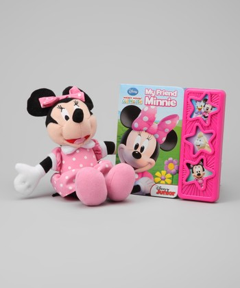 My Friend Minnie Board Book & Minnie Plush Toy