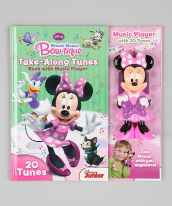 Minnie Mouse Bow-Tique Take-Along Tunes Hardcover