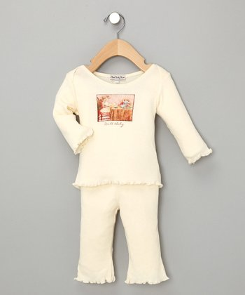 Cream Doll Baby Set - Infant