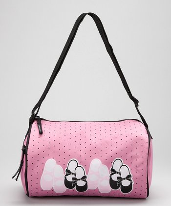 Pink Tap & Toe Duffel Bag