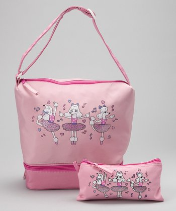 Pink Poodle Gear Tote & Coin Purse