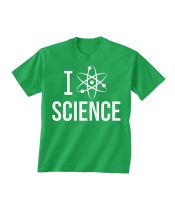 Skip N' Whistle Green 'Science' Tee - Toddler & Boys