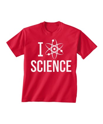 Skip N' Whistle Red 'Science' Tee - Toddler & Boys