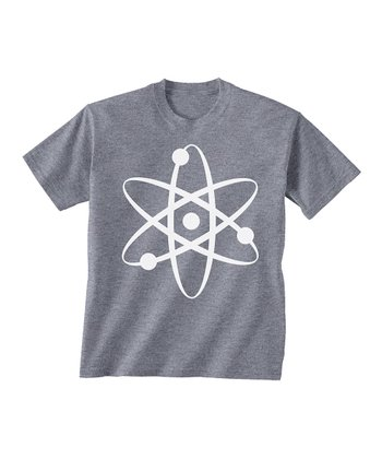 Skip N' Whistle Gray Atom Tee - Toddler & Boys