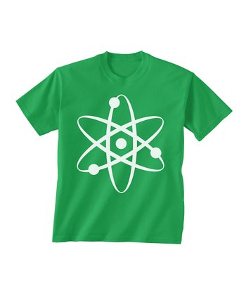Skip N' Whistle Green Atom Tee - Toddler & Boys